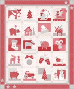Moda Country Christmas Quilt Kit by Bunny Hill Designs