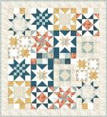 Moda Cider Stars for Carter Quilt Kit by Basic Grey