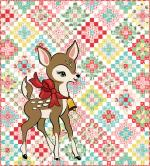 Moda Deer Christmas Quilt Kit by Urban Chiks