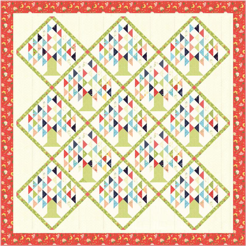 Moda Clover Hollow Quilt Kit By Sherri Amp Chelsi Kit37550