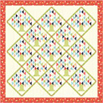 Moda Clover Hollow Quilt Kit by Sherri & Chelsi