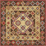 Moda Rosewood Quilt Kit by 3 Sisters