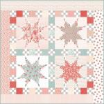 Moda Sanctuary Peace Quilt Kit by 3 Sisters
