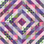 Moda Sweet Pea Lily Quilt Kit by Robin Pickens