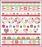Moda Little Snippets Quilt Kit by Bonnie & Camille