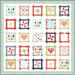 Moda Shine On Summer Days Quilt Kit by Bonnie & Camille