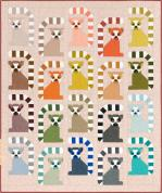 Robert Kaufman Adventure Lana Lemur Quilt Kit by Elizabeth Hartman