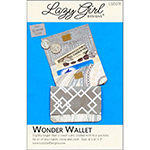 Lazy Girl Designs Wonder Wallet Pattern by Joan Hawley