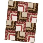 Maywood Studio Ruby Corner Cabin Quilt Pod Kit by Bonnie Sullivan