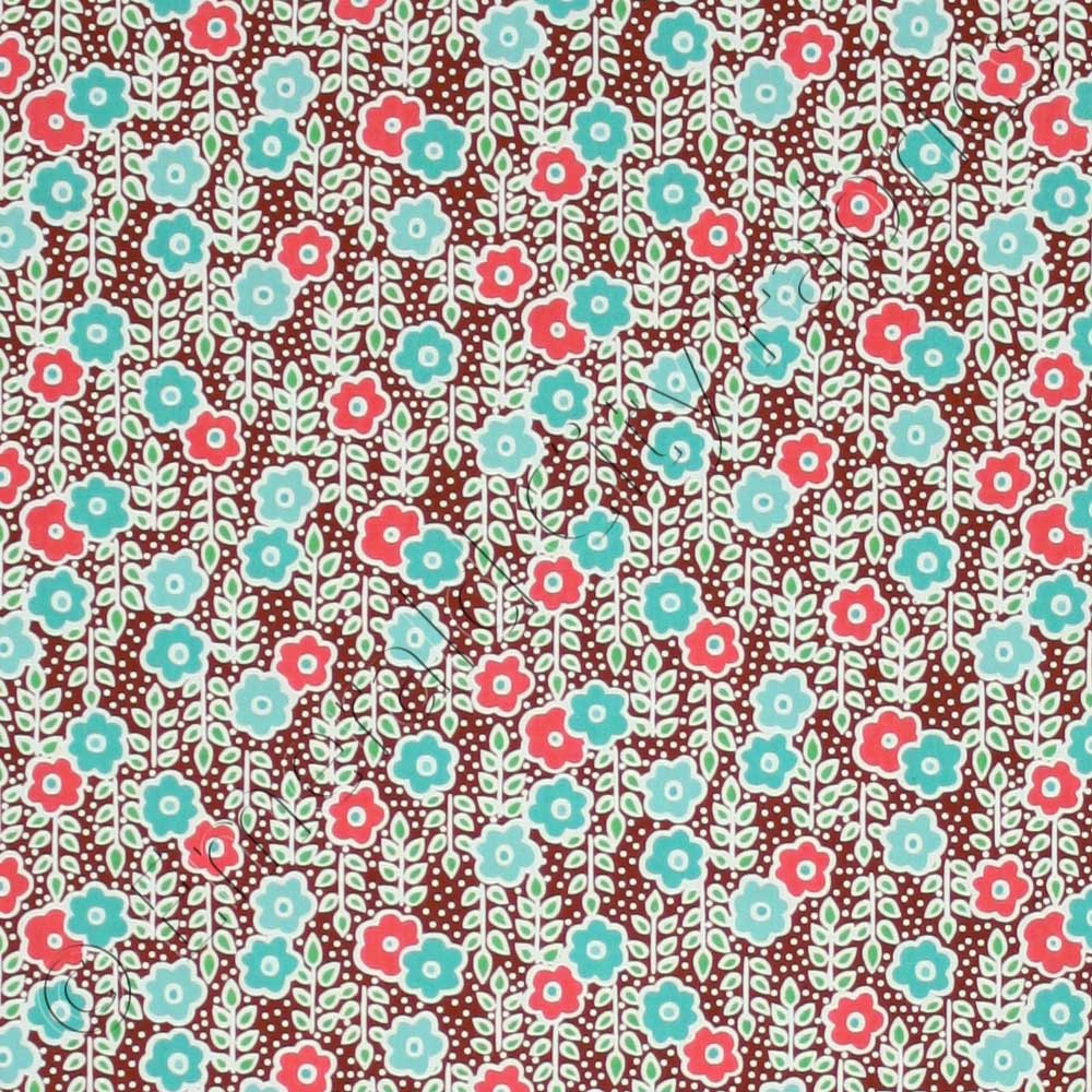 Anthology Sweet Tooth Baby Floral Milk Shake Fabric
