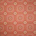 Free Spirit Bungalow Doily Coral Fabric