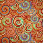 Kaffe Fassett Collective Curly Baskets Antique Fabric