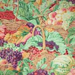 Kaffe Fassett Collective Market Basket Frost Fabric