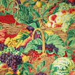 Kaffe Fassett Collective Market Basket Natural Fabric