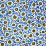 Free Spirit Botanical Cineraria Blue Fabric
