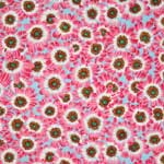 Free Spirit Botanical Cineraria Pink Fabric
