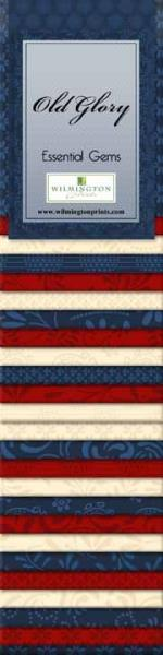Wilmington Prints Essential Gems Junior Jelly Roll Old Glory