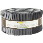 Robert Kaufman Kona Cotton Silent Film Jelly Roll Up