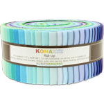 Robert Kaufman Kona Cotton Sunset Jelly Roll Up