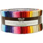 Robert Kaufman Fusions Meadow Jelly Roll Up