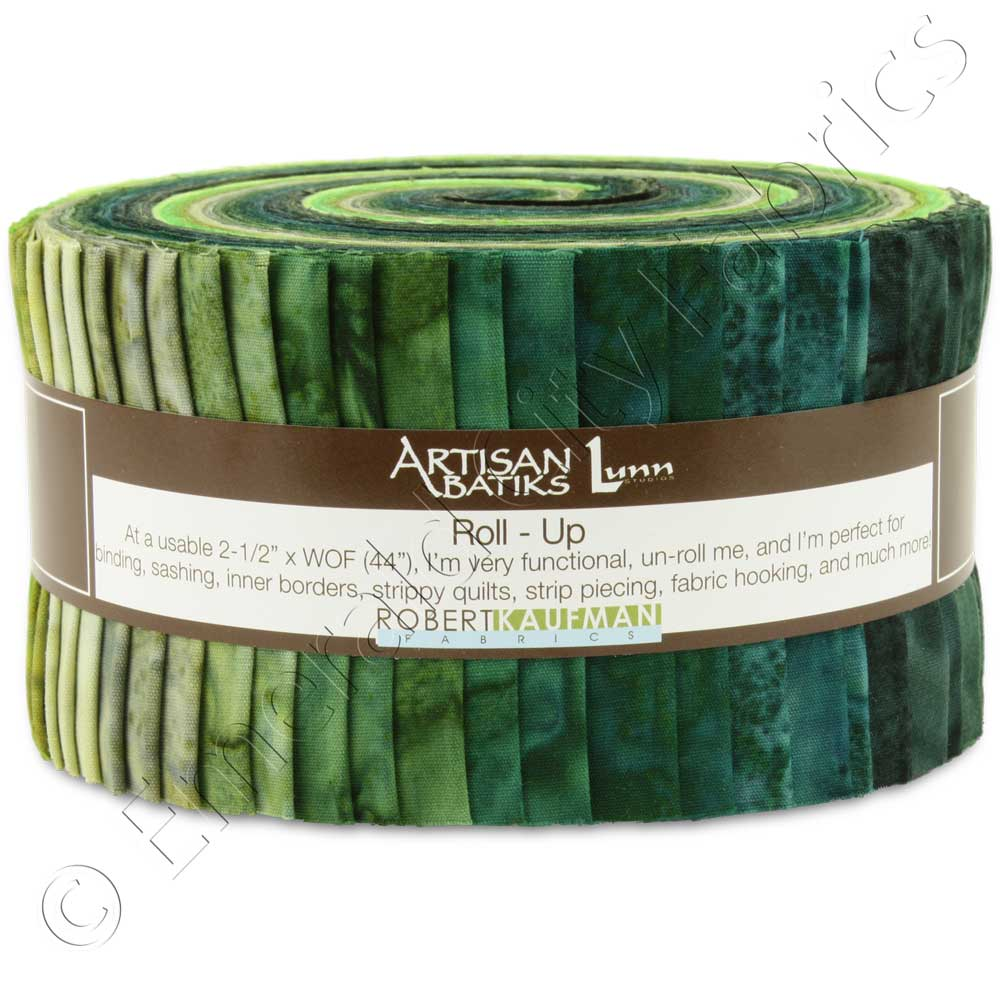 Robert Kaufman Artisan Batiks Prisma Dyes Rainforest Jelly