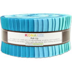 Robert Kaufman Kona Cotton Pool Party Jelly Roll Up