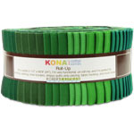 Robert Kaufman Kona Cotton Wondrous Woods Jelly Roll Up