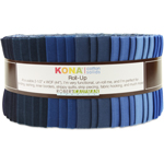 Robert Kaufman Kona Cotton Solids Dusk to Dawn Jelly Roll Up