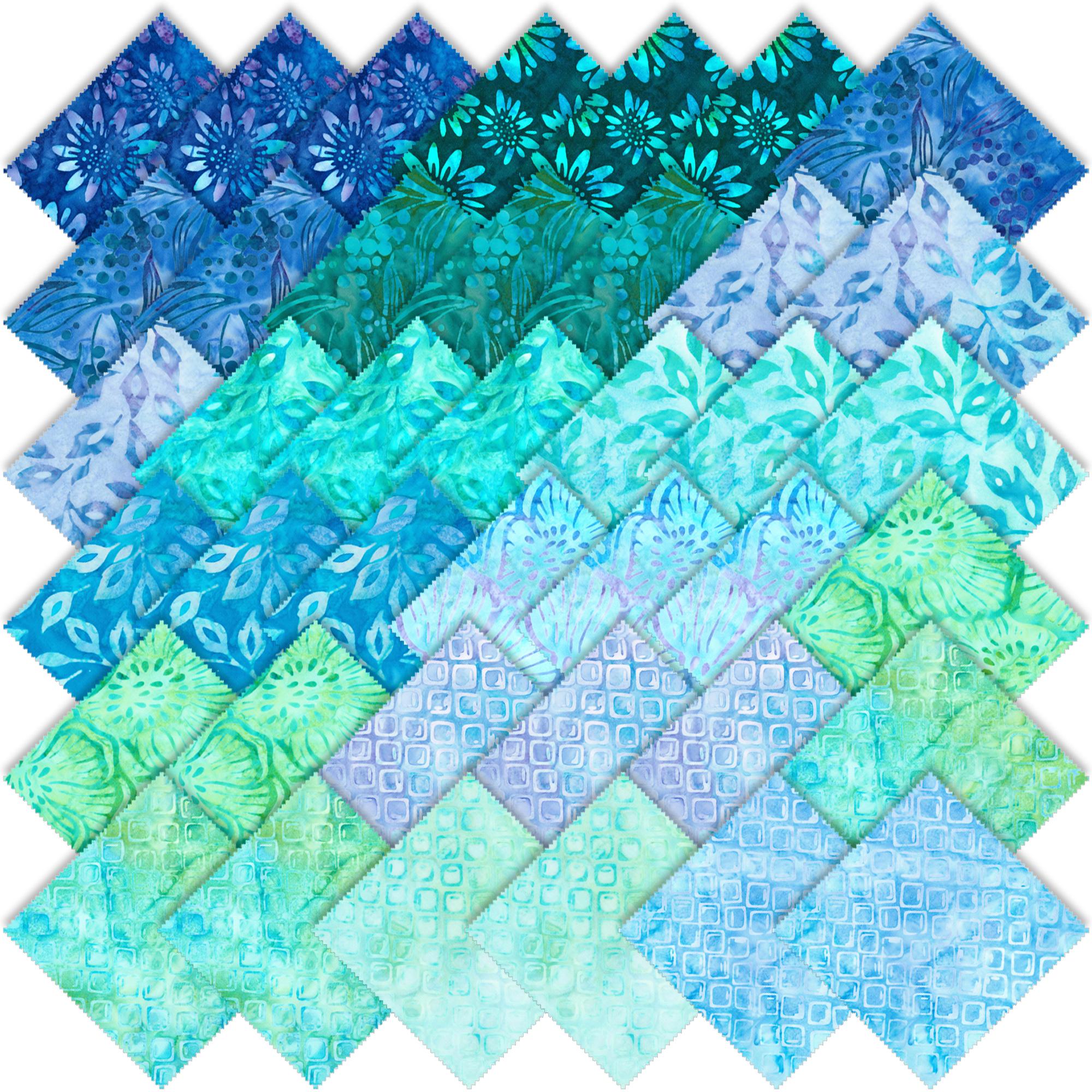 Robert Kaufman Artisan Batiks Greenhouse 3 Jelly Roll Up