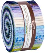 Robert Kaufman Artisan Batiks Greenhouse 4 Jelly Roll by Lunn Studios