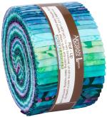 Robert Kaufman Artisan Batiks Butterfly Blooms Jelly Roll by Lunn Studios