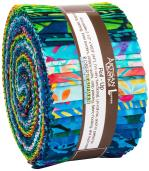 Robert Kaufman Totally Tropical Artisan Batiks Jelly Roll by Lunn Studios