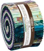 Robert Kaufman Artisan Batiks Evening Stroll Jelly Roll by Lunn Studios