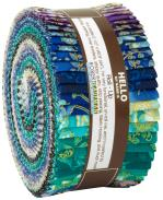Robert Kaufman Florentine Garden Jelly Roll Jewel Metallic by Hyun Joo Lee
