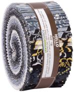 Robert Kaufman Silverstone Jelly Roll by Wishwell