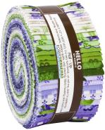 Robert Kaufman Flowerhouse Elizabeth Jelly Roll by Debbie Beaves
