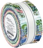 Robert Kaufman Wishwell Nature's Notebook Jelly Roll by Briar Hill Designs