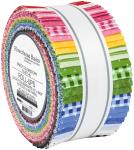 Robert Kaufman Flowerhouse Basics Jelly Roll Sweet by Debbie Beaves