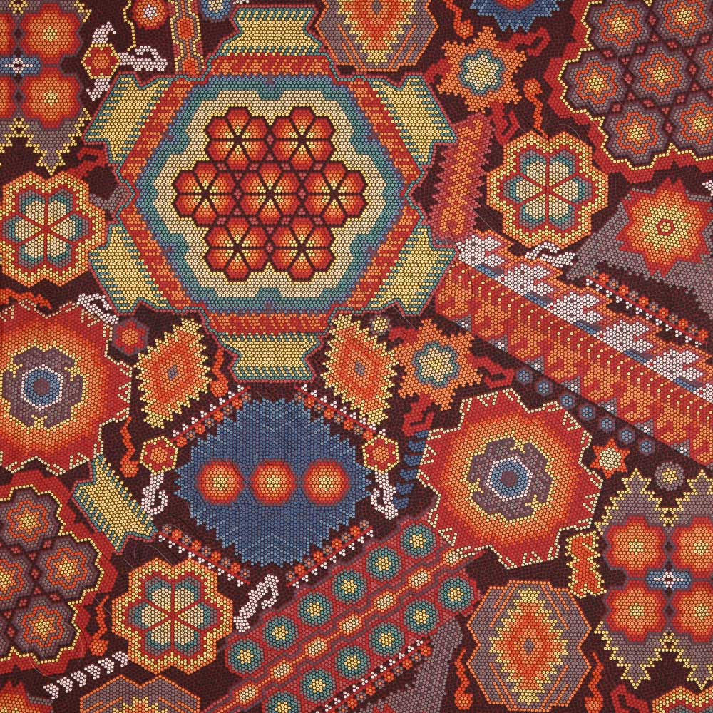 Robert Kaufman La Plaza Floral Mosaic Fiesta Fabric