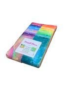 Benartex Fossil Fern Fossil Fern Brights Strip-pies Jelly Roll