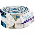 Maywood Studio Coastal Chic Batiks Jelly Roll by Monique Jacobs