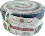 Maywood Studio Flower & Vine Jelly Roll by Monique Jacobs