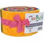 Maywood Studio Java Batiks Jelly Roll Rainbow