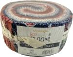 Maywood Studio Red, White & Bloom Jelly Roll by Kim Christopherson