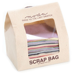 Moda Wool Scrap Bag, 1/2 Pound of Mixed Color Rectangles