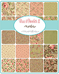 Moda Roses & Chocolate II Fabric by the Yard