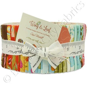 Moda Wing and Leaf Jelly Roll by Gina Martin