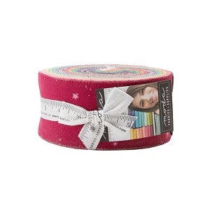 Moda Ombre Bloom Jelly Roll by V and Co.