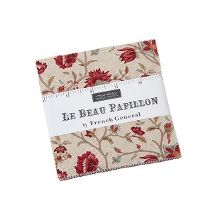 Moda Le Beau Papillon Charm Pack by French General