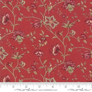 Moda Le Beau Papillon Euthalia Rouge Fabric by French General